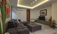 Living Area with TV - Villa Roemah Natamar - Canggu, Bali