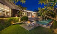 Pool Side Loungers - Villa Roemah Natamar - Canggu, Bali