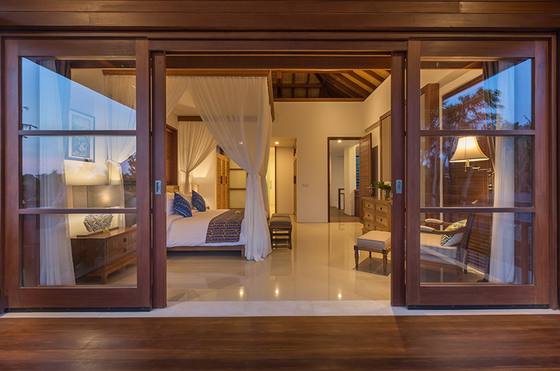 Bedroom View - Villa Rusa Biru - Canggu, Bali