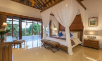 Bedroom and Balcony - Villa Rusa Biru - Canggu, Bali