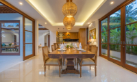 Indoor Dining Area - Villa Rusa Biru - Canggu, Bali