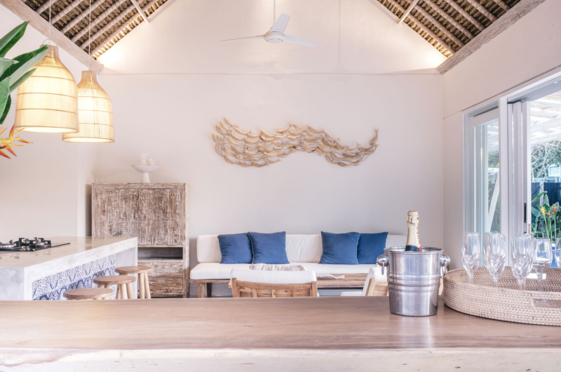 Living Area - Villa Sari - Nusa Lembongan, Bali