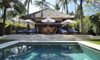 Pool Side Seating Area - Villa Sasoon - Candidasa, Bali
