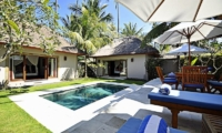 Pool Side Loungers - Villa Sasoon - Candidasa, Bali
