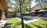 Gardens and Pool - Villa Sasoon - Candidasa, Bali