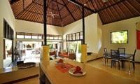 Living, Kitchen and Dining Area - Villa Sasoon - Candidasa, Bali