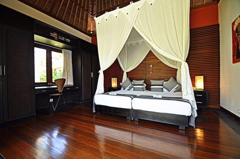 Bedroom with Twin Beds - Villa Sasoon - Candidasa, Bali