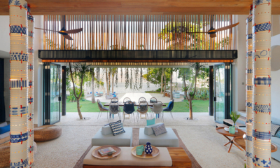 Living and Dining Area - Villa Seascape - Nusa Lembongan, Bali
