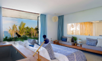 Bedroom with Sofa - Villa Seascape - Nusa Lembongan, Bali