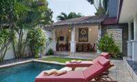 Reclining Sun Loungers - Villa Selasa - Seminyak, Bali