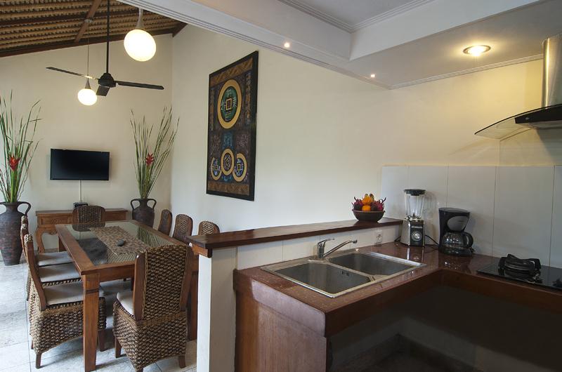 Kitchen and Dining Area - Villa Selasa - Seminyak, Bali