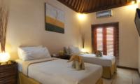 Twin Bedroom - Villa Selasa - Seminyak, Bali