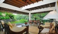 Living and Dining Area - Villa Semana - Ubud, Bali