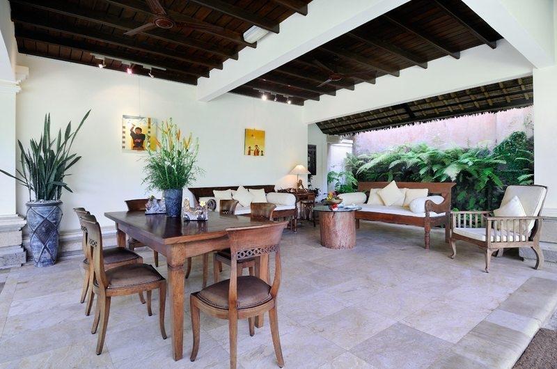 Indoor Living and Dining Area - Villa Semana - Ubud, Bali