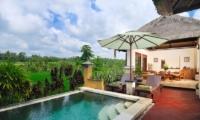 Pool with View - Villa Semana - Ubud, Bali