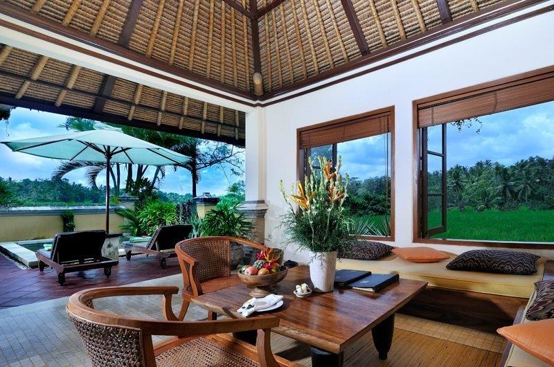 Pool Side Seating Area - Villa Semana - Ubud, Bali