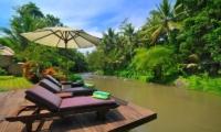 Sun Loungers - Villa Semana - Ubud, Bali