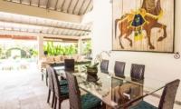 Dining Area - Villa Senang - Batubelig, Bali