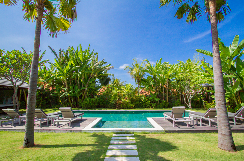 Pool Side - Villa Senara - Canggu, Bali