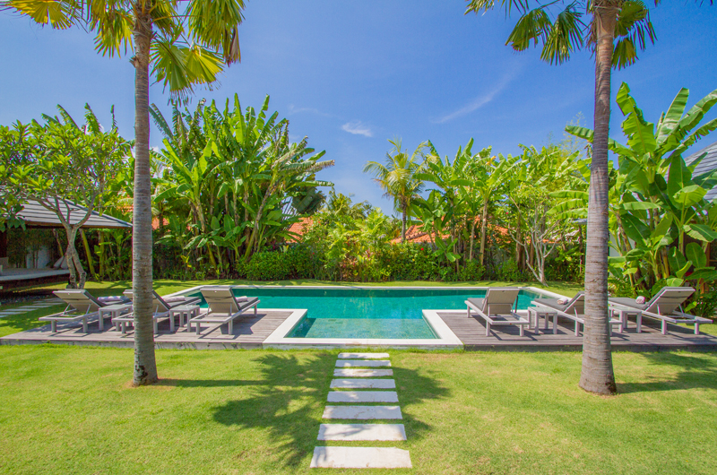 Gardens and Pool - Villa Senara - Canggu, Bali