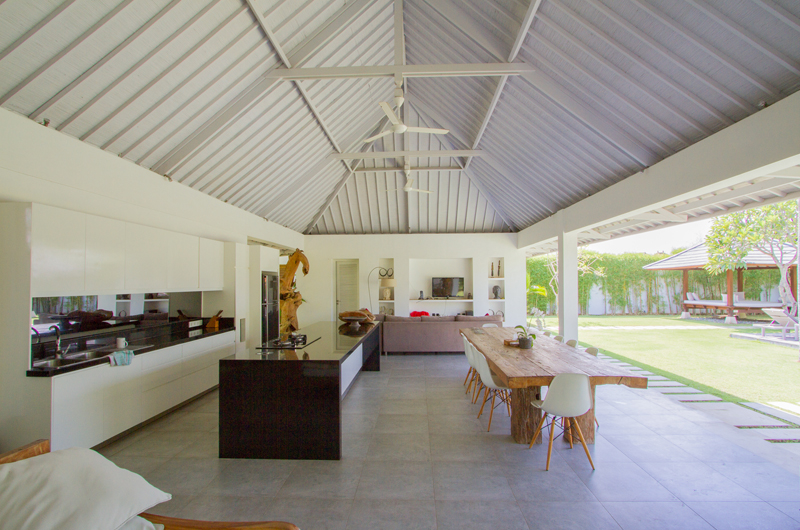 Kitchen and Dining Area - Villa Senara - Canggu, Bali