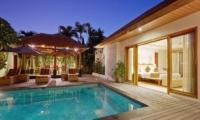 Pool Side - Villa Seriska Dua Sanur- Sanur, Bali