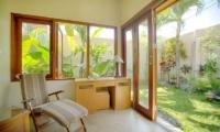 Study Table with View - Villa Seriska Dua Sanur - Sanur, Bali