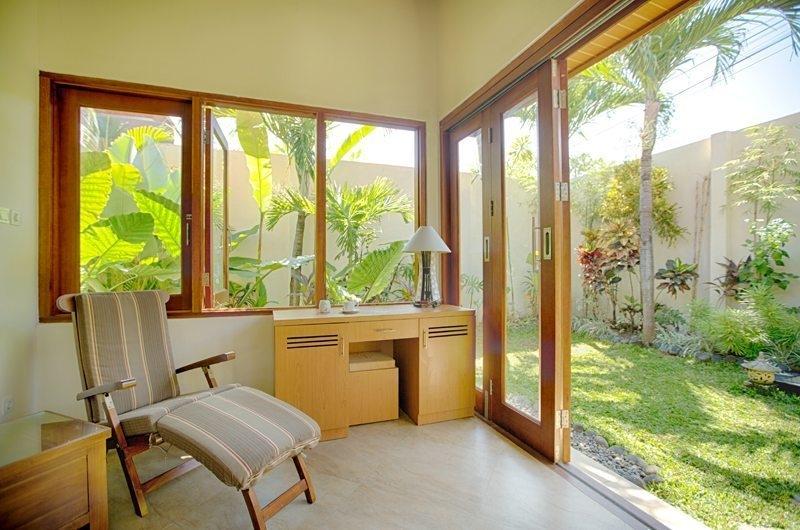 Study Table with View - Villa Seriska Dua Sanur- Sanur, Bali