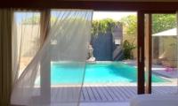 Bedroom with Pool View - Villa Seriska Dua Sanur - Sanur, Bali