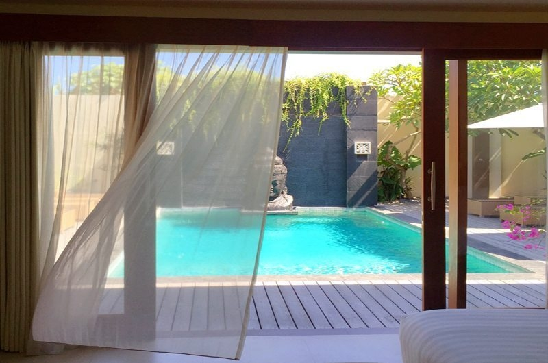 Bedroom with Pool View - Villa Seriska Dua Sanur- Sanur, Bali