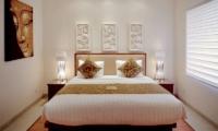 Bedroom with Table Lamps - Villa Seriska Dua Sanur- Sanur, Bali