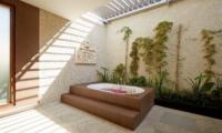Romantic Bathtub Set Up - Villa Seriska Dua Sanur- Sanur, Bali