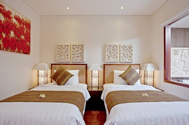 Twin Bedroom - Villa Seriska Dua Sanur - Sanur, Bali