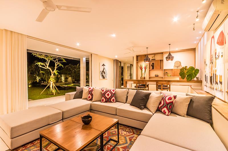 Indoor Living Area - Villa Seriska Jimbaran - Jimbaran, Bali