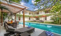 Pool Side Loungers - Villa Seriska Jimbaran - Jimbaran, Bali