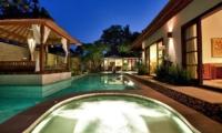 Pool Side Jacuzzi - Villa Seriska Satu Sanur - Sanur, Bali
