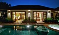 Night View - Villa Seriska Satu Sanur - Sanur, Bali