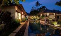 Pool at Night - Villa Seriska Satu Sanur - Sanur, Bali
