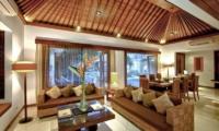 Indoor Living and Dining Area - Villa Seriska Satu Sanur - Sanur, Bali