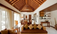 Living and Dining Area - Villa Seriska Satu Sanur - Sanur, Bali