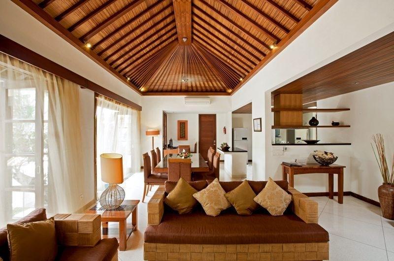 Living and Dining Area - Villa Seriska Satu Sanur - Sanur, Bali
