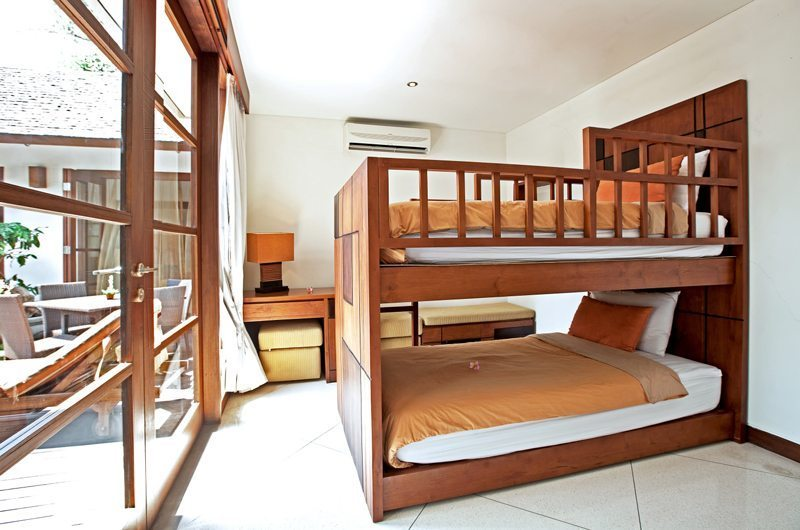Bunk Beds - Villa Seriska Satu Sanur - Sanur, Bali
