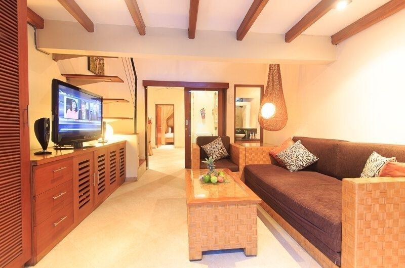 Family Area with TV - Villa Seriska Seminyak - Seminyak, Bali