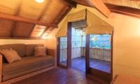 Lounge Area and Balcony - Villa Seriska Seminyak - Seminyak, Bali