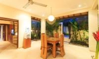 Indoor Dining Area - Villa Seriska Seminyak - Seminyak, Bali