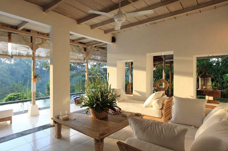Indoor Living Area - Villa Shamballa - Ubud, Bali