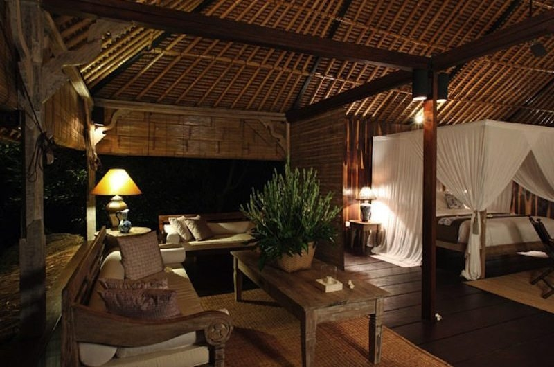 Bedroom with Seating Area - Villa Shamballa - Ubud, Bali