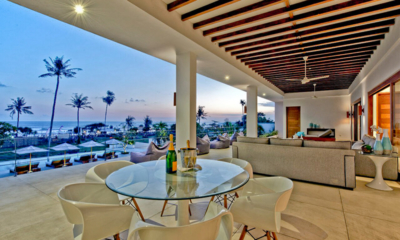 Dining Area with Sea View - Villa Shaya - Canggu, Bali