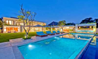 Pool at Night - Villa Shaya - Canggu, Bali