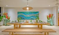 Dining Area - Villa Shaya - Canggu, Bali